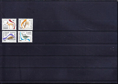 054612 Vögel Birds ... Tunis 1136-39 ** MNH Year 1986