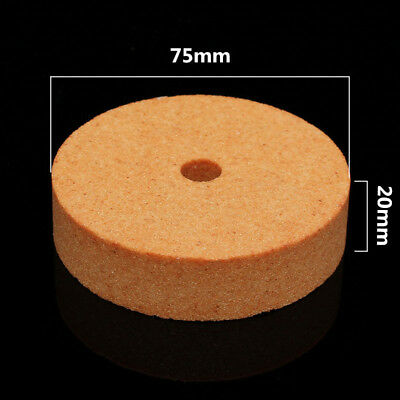 75*10*20mm 3'' Polishing Grinding Stone Wheel For Bench Grinders Metal Working F