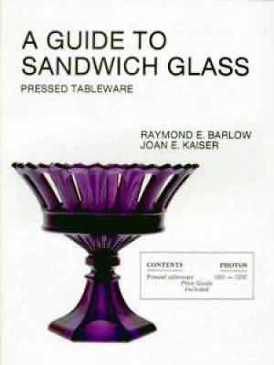 Antique Sandwich Glass ID Book Pressed Tableware & Lacy