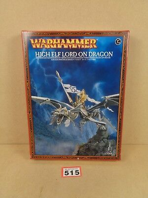Warhammer Age of Sigmar High Elves Lord Archmage on Dragon BNIB 515