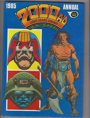 2000AD  Annual 1985 UK Fleetway Hardback published in 1984 in very good cond