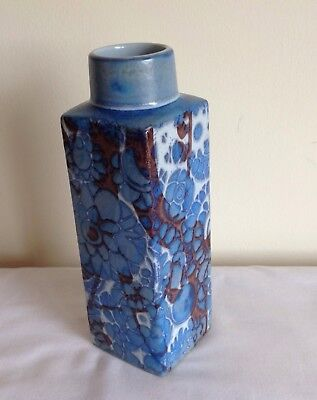 Vintage Royal Copenhagen Fajance Bottle Shaped Vase
