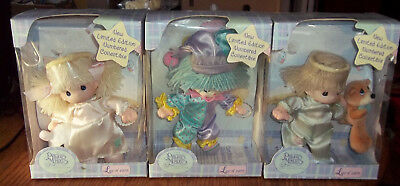 Precious Moments Baby Collection Lot of 3 - 2 Angels & 1 Clown NIB