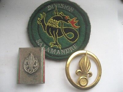 French Foreign Legion.lot 3 Items