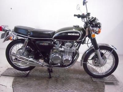 1973 Honda CB500K2 Unregistered US Import Barn Find Classic Restoration Project
