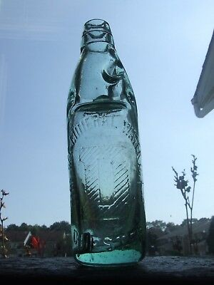 "CHESTER Mineral Water Codd Bottle - The DEE MINERAL WATER CO. large letter ""D"""