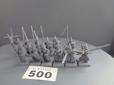 Warhammer Age of Sigmar High Elves Lothern Seaguard Spearmen 500