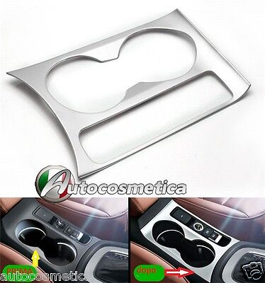 Cover satin outline cupholders tunnel middle Audi Q3