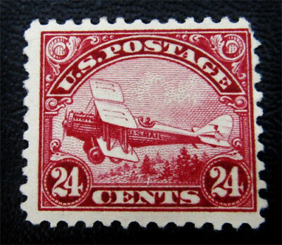nystamps US Air Mail Stamp # C6 Mint H $70