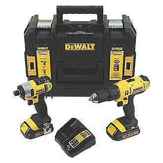 Dewalt Dcz298S2T 18 Volt Cordless Drill + Impact Driver Twinpack (Reconditioned)