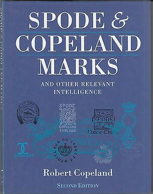 Spode & Copeland Marks & Relevant Intelligence 2nd Revised Edn BOOK by Copeland