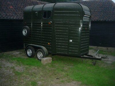 Rice Double Beaufort Large Horse Trailer  Project Suit Catering Retail