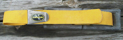 Dacor Scuba Diving Weight Belt with 2 Lead Weights 23 Pounds Yellow Nr