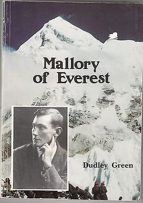 George Mallory Biography Mount Everest  by Dudley Green 1990 1st