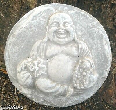 Buddha stepping stone mold plaster concrete casting mould