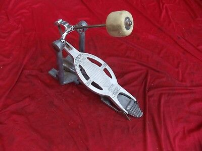 Vintage Ludwig Speed King Bass Drum Pedal, rat hot street rod gasser gas pedal