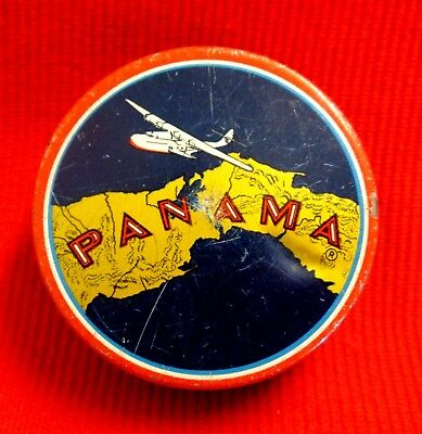 Pan American World Airways 1940's Tin Martin 130 Flying Clipper Art Panama lsc12