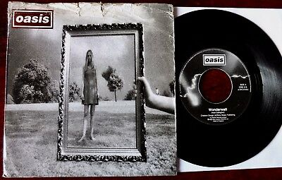 "Oasis Wonderwall 7"" Single Creation Cre 215 (1995) Vg+ England"