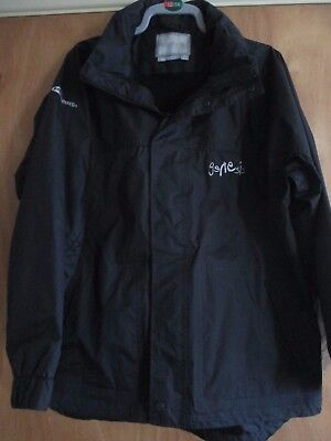 Genesis Tour Crew Only Heavy Waterproof Jacket XL Very Rare New