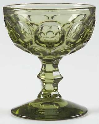 Imperial Glass Ohio PROVINCIAL GREEN Champagne Sherbet Glass 237648
