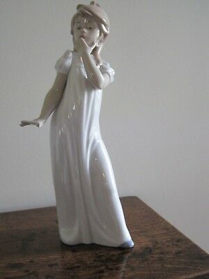 Large Nao Figure Of Girl In Long Dress