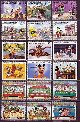 *** DISNEY *** = 3 Sets = All Mint Not Hinged