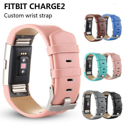 For Fitbit Charge 2 Sports Fashion Leather Watch Band Strap Wrist Band Bracelet