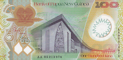 100 Kina Aunc-Unc Banknote From New Guinea 2005!pick-33