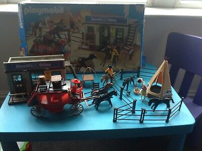 Playmobil Wild West Set Cowboys And Indians