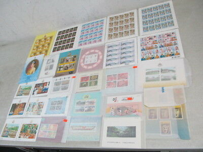 Nystamps Thailand many mint NH stamp souvenir sheet collection