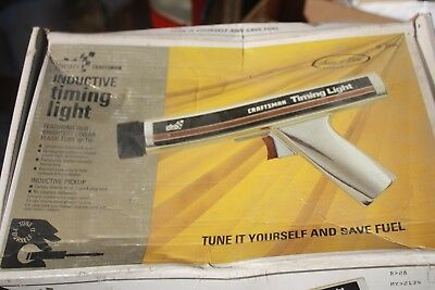 Sears Craftsman Inductive Timing Light, 28- 2134 light use to no use with box