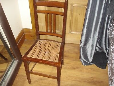 antique Edwardian chair berger seat