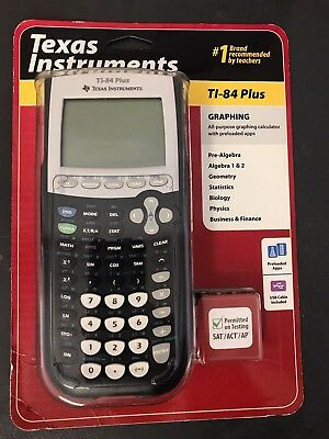 Brand New Texas instruments TI-84 PLUS Graphing calculator