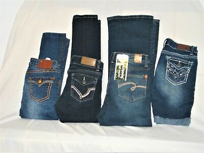 Lot girls Sz 10 Jeans and Short Vigoss New Justice