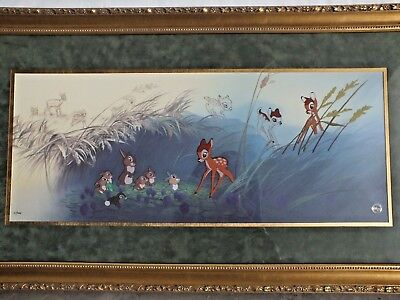 "Disney Bambi Limited Edition Cel - ""Good Morning Young Prince"" -with COA"