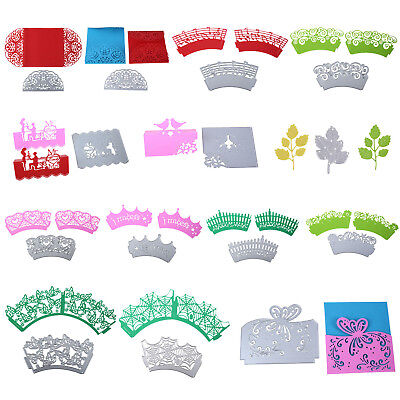 Cake Metal Cutting Dies DIY Stencil Crafts Embossing Scrapbooking Paper Card NEW