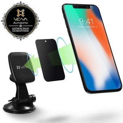Suction Cup Magnetic Car Mount Phone Holder for iPhone XS Max Galaxy S10 S9 Note
