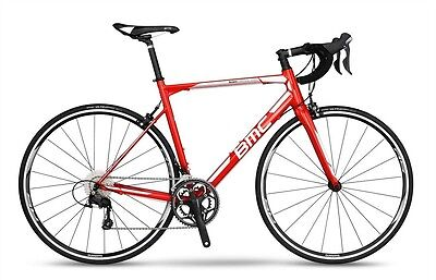 2017 BMC TEAMMACHINE ALR01 105 ROAD BIKE Red 57CM Retail $1600