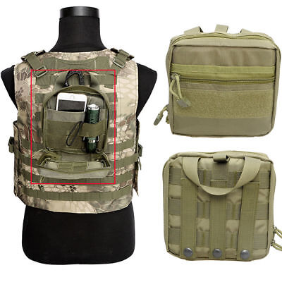 Tactical Molle Medical First Aid Pouch Utility Tools & Kits Bag Accessory Bag OD