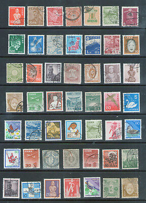 JAPAN Selection.  All definitives.      79p ask.
