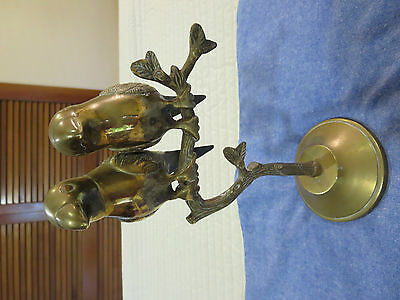 Brass Ornaments - Birds On A Stand
