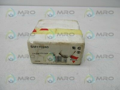 Electromatic Sm170240 Voltage Relay *new In Box*
