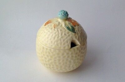 Lidded Preserve Pot possibly Beswick retro tableware
