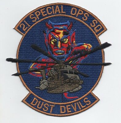 US Air Force 21st Special Operations Sqn, Dust Devils patch, RAF Mildenhall