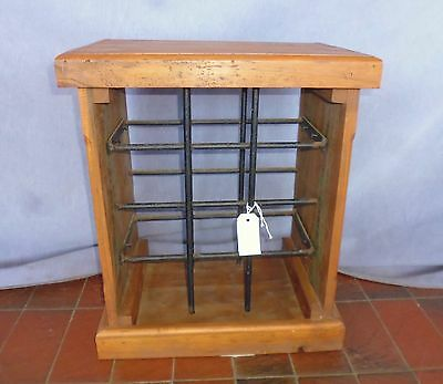 Wine Rack - Wooden with metal racks - 371176