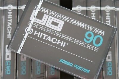 Hitachi Ud90 Classic 1976 Normal Position Type I Blank Audio Cassette Tape