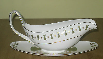 Spode 'persia' Pattern Gravy Boat And Underplate!