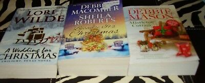 Lot Of 3 Paperback Christmas Romance Books
