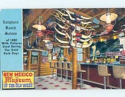 Unused Pre-1980 LONGHORN RANCH ON ROUTE 66 Moriarty New Mexico NM ho9425-12