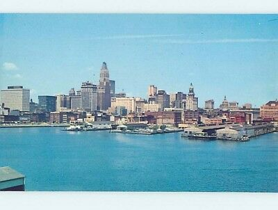 Unused Pre-1980 PANORAMIC VIEW Baltimore Maryland MD hp3682